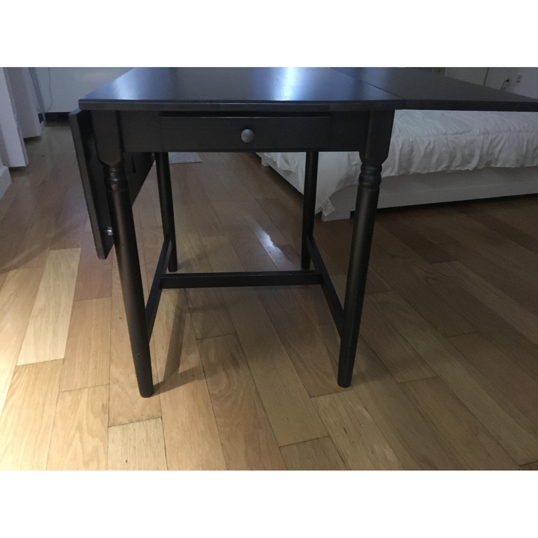 Ikea Ingatorp Drop-Leaf Table-1