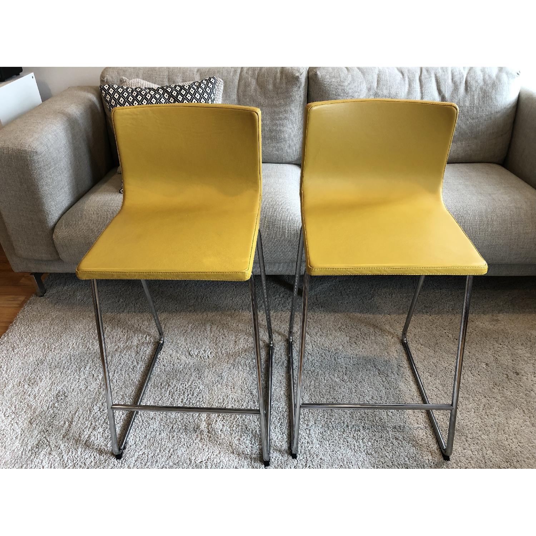 Ikea Bernhard Bar Stools w/ Backrest-0