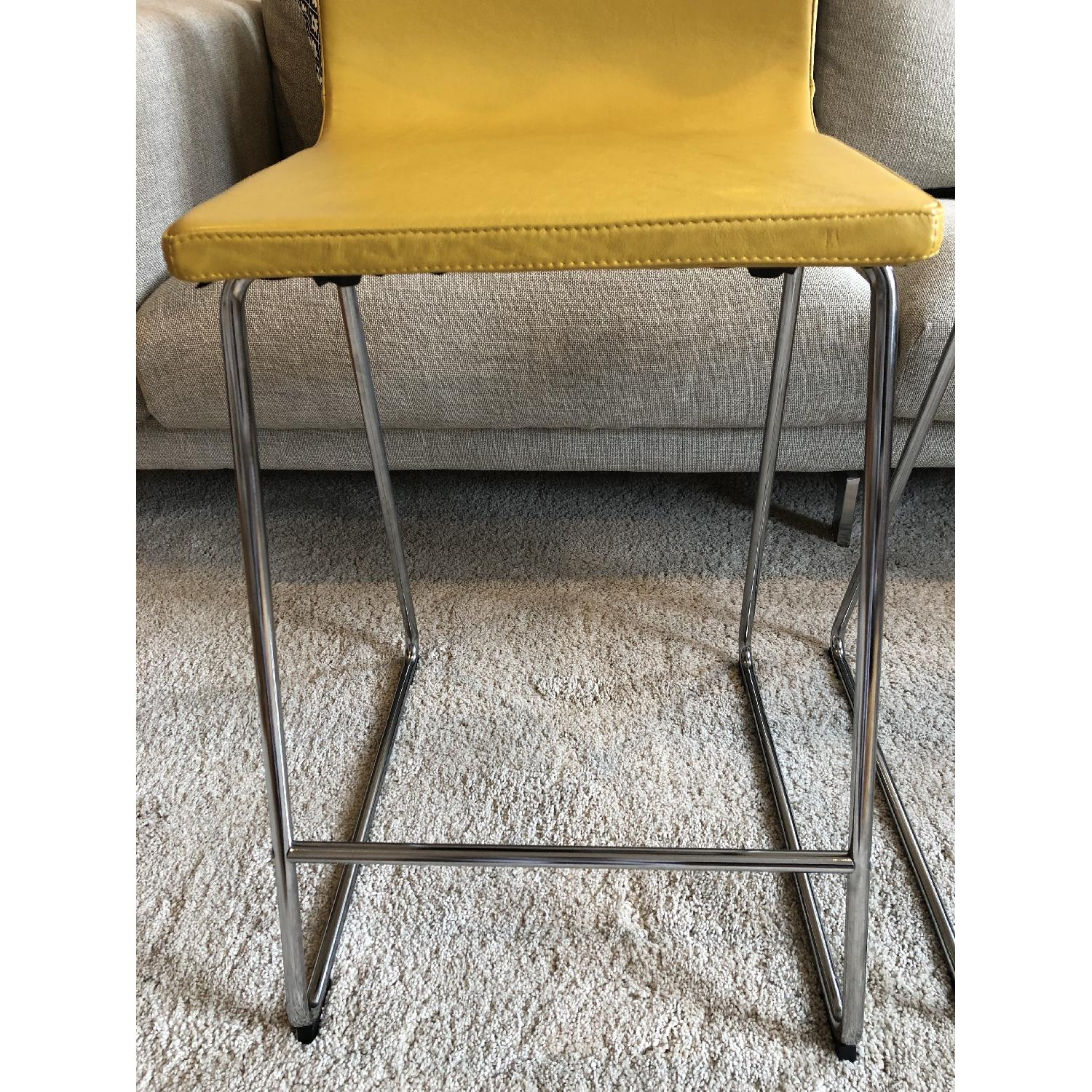 Ikea Bernhard Bar Stools w/ Backrest-3