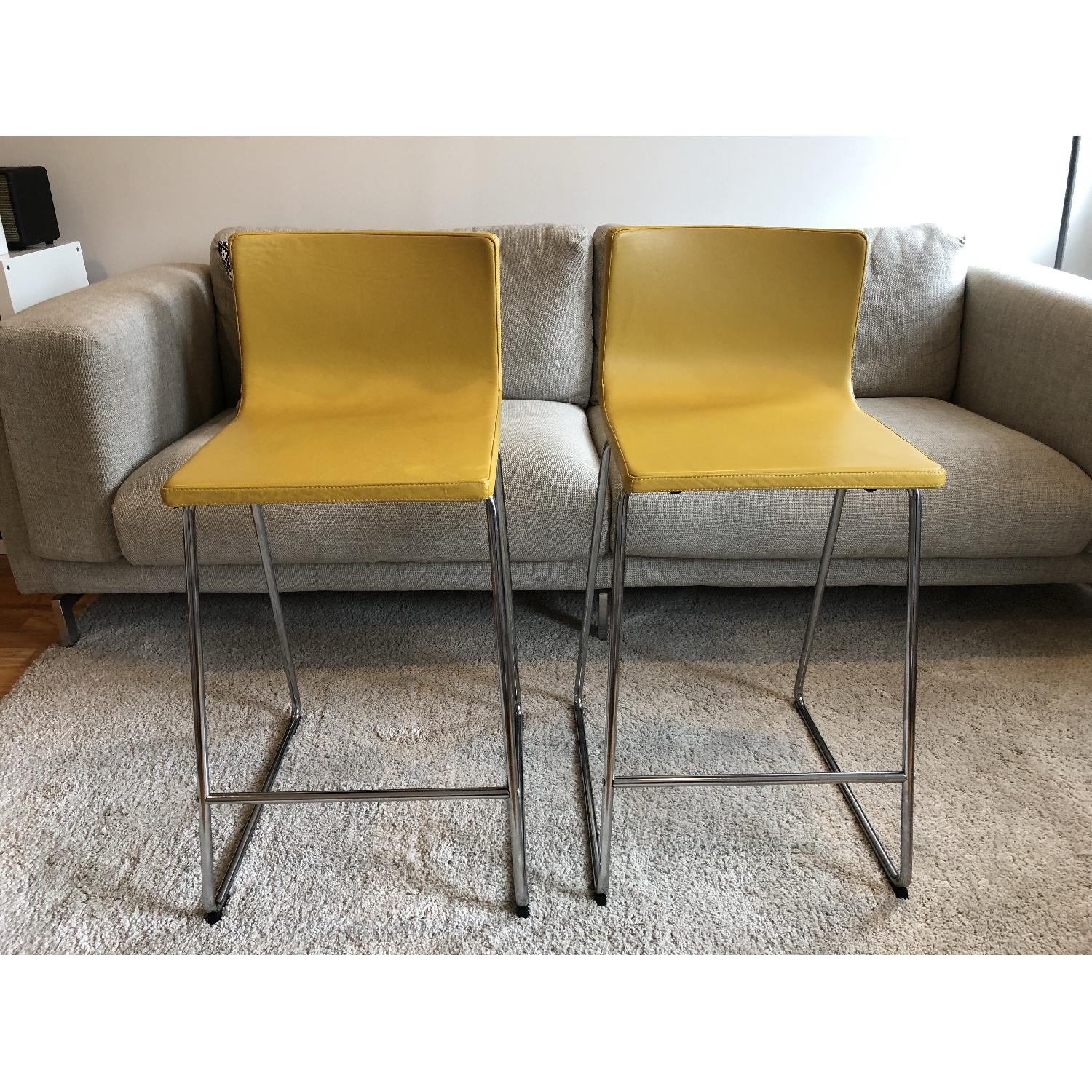 Ikea Bernhard Bar Stools w/ Backrest