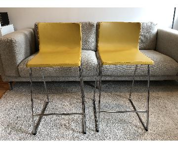 Ikea Bernhard Bar Stools w/ Backrest