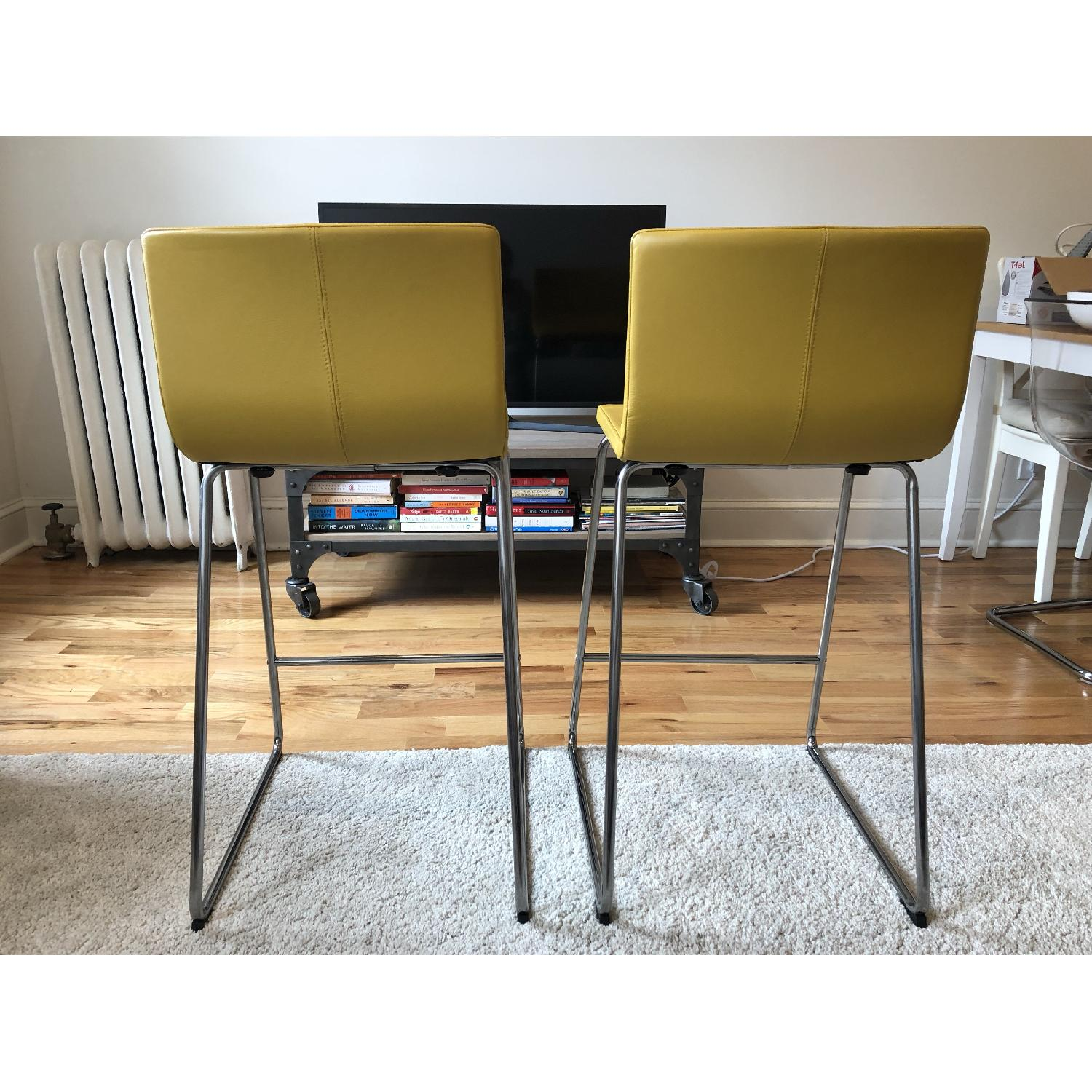 Ikea Bernhard Bar Stools w/ Backrest-4