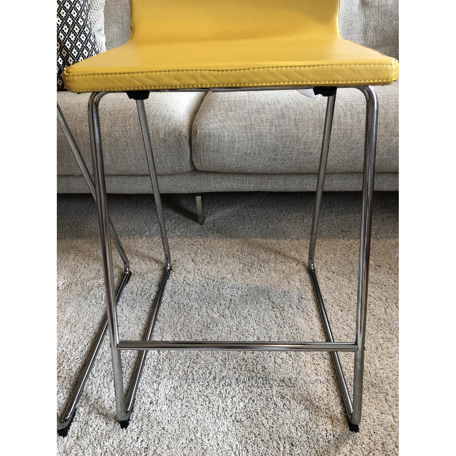 Ikea Bernhard Bar Stools w/ Backrest-5