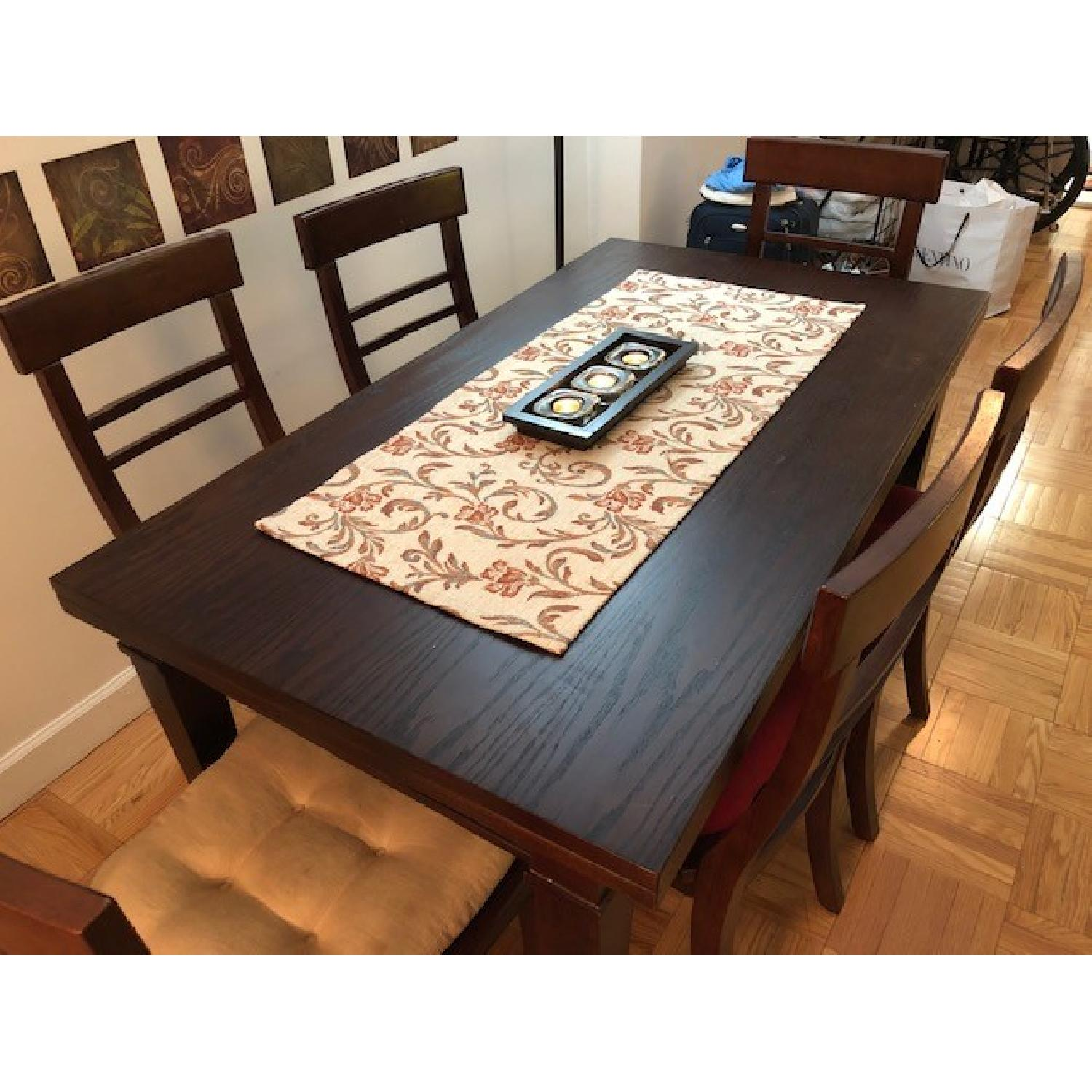 Crate & Barrel Table w/ 6 Chairs-2