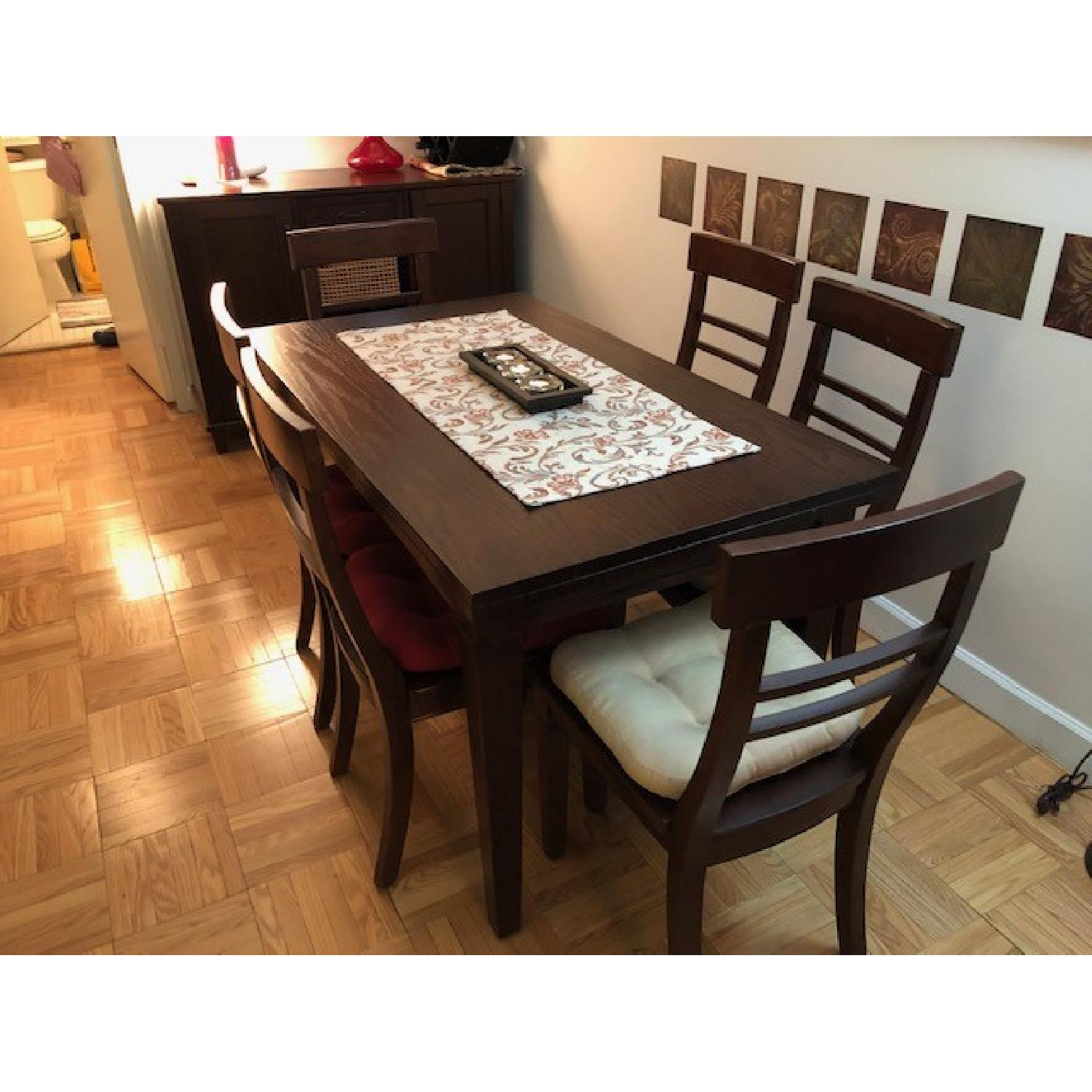 Crate & Barrel Table w/ 6 Chairs-3