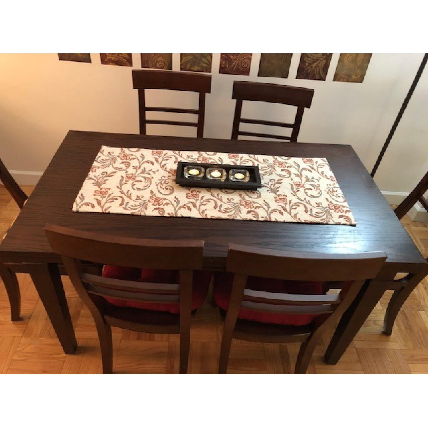Crate & Barrel Table w/ 6 Chairs-4