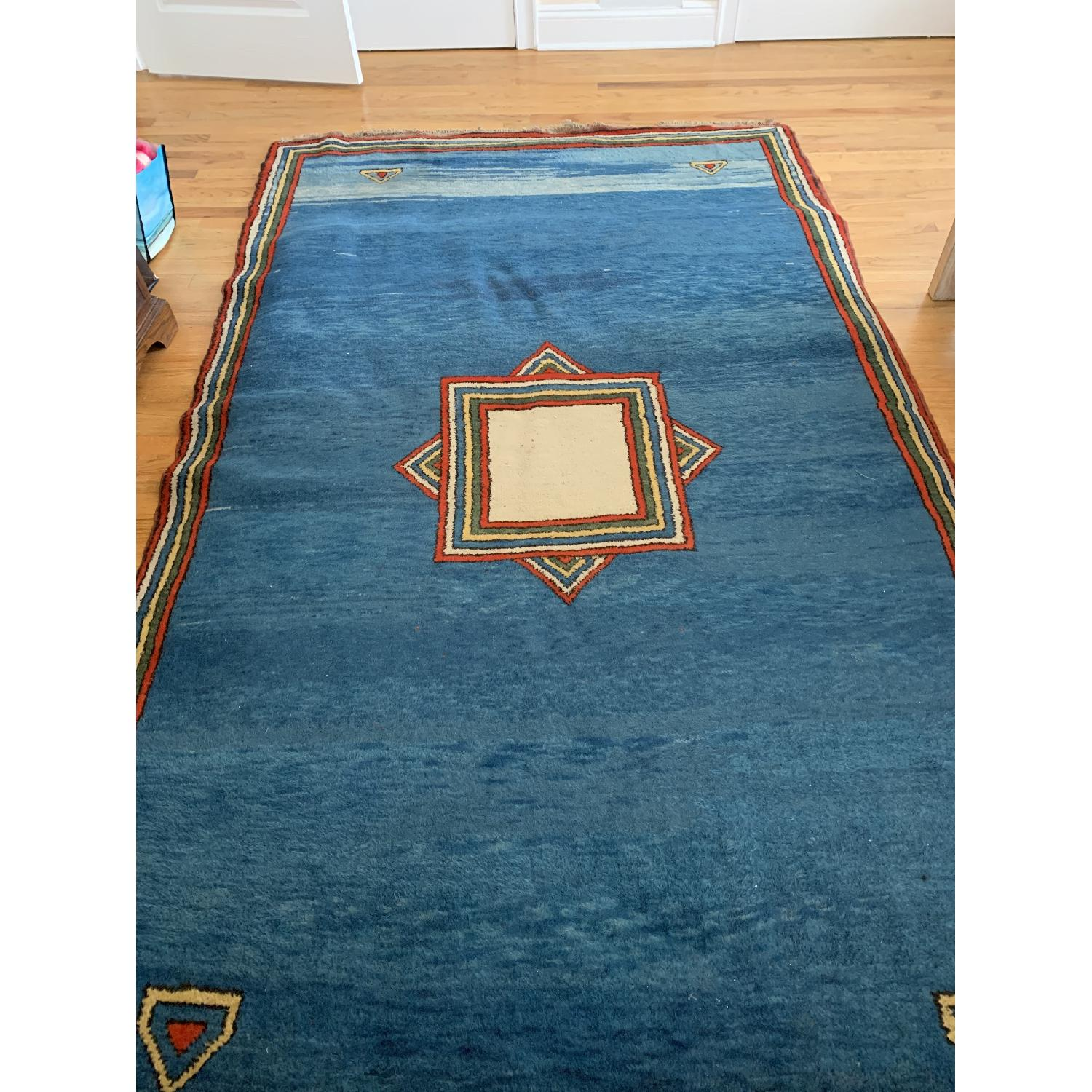 Persian Area Rug in Contemporary Design-0