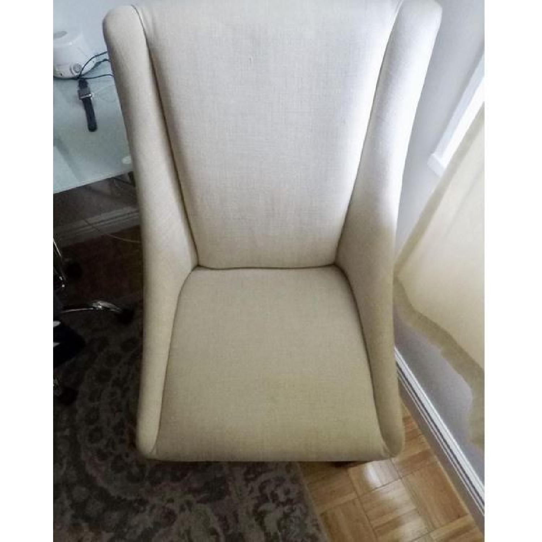 Restoration Hardware Nailhead Fabric Armchair-0