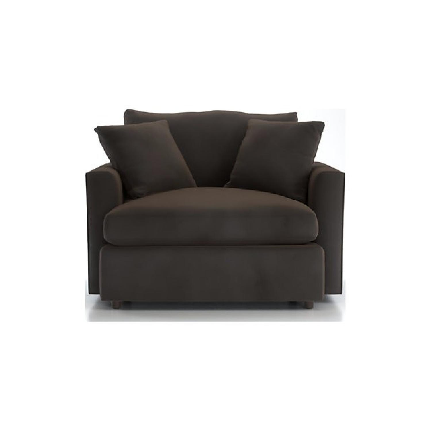 Crate & Barrel Lounge Chair and a Half