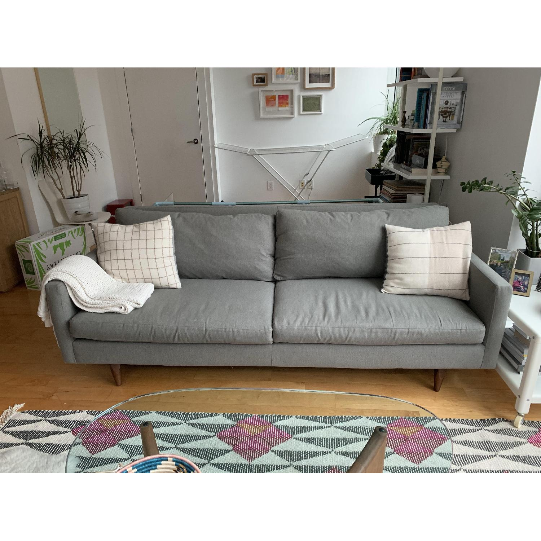 Room & Board Jasper Sofa in Dawson Cement-1