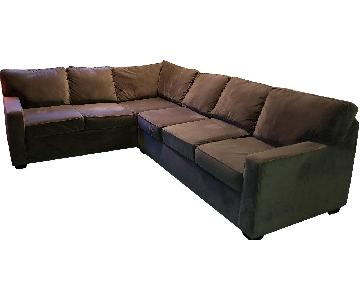 Jennifer Convertibles Chandler 2-Piece Sectional Sofa
