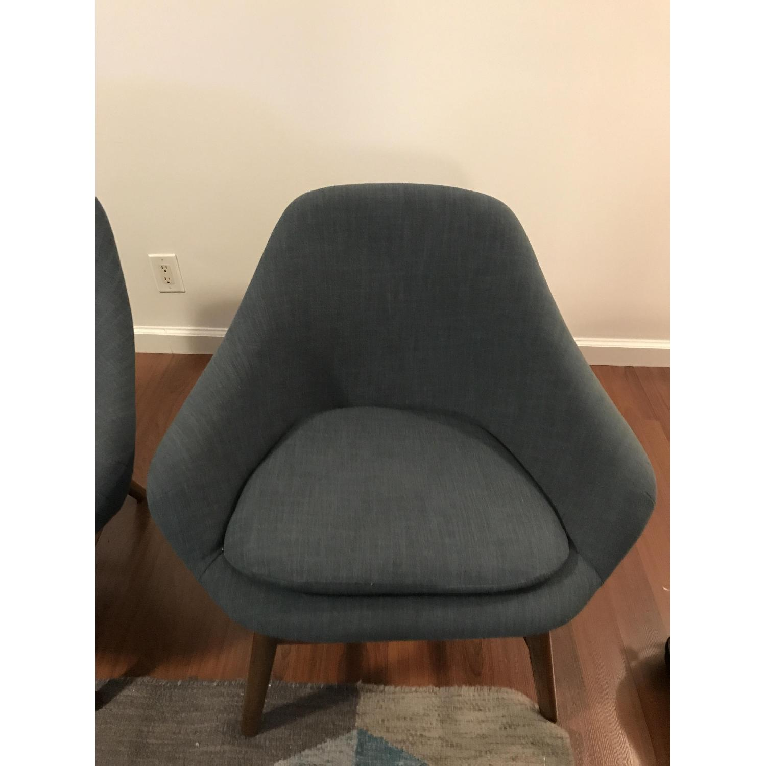 West Elm Mylo Chairs in Teal-3