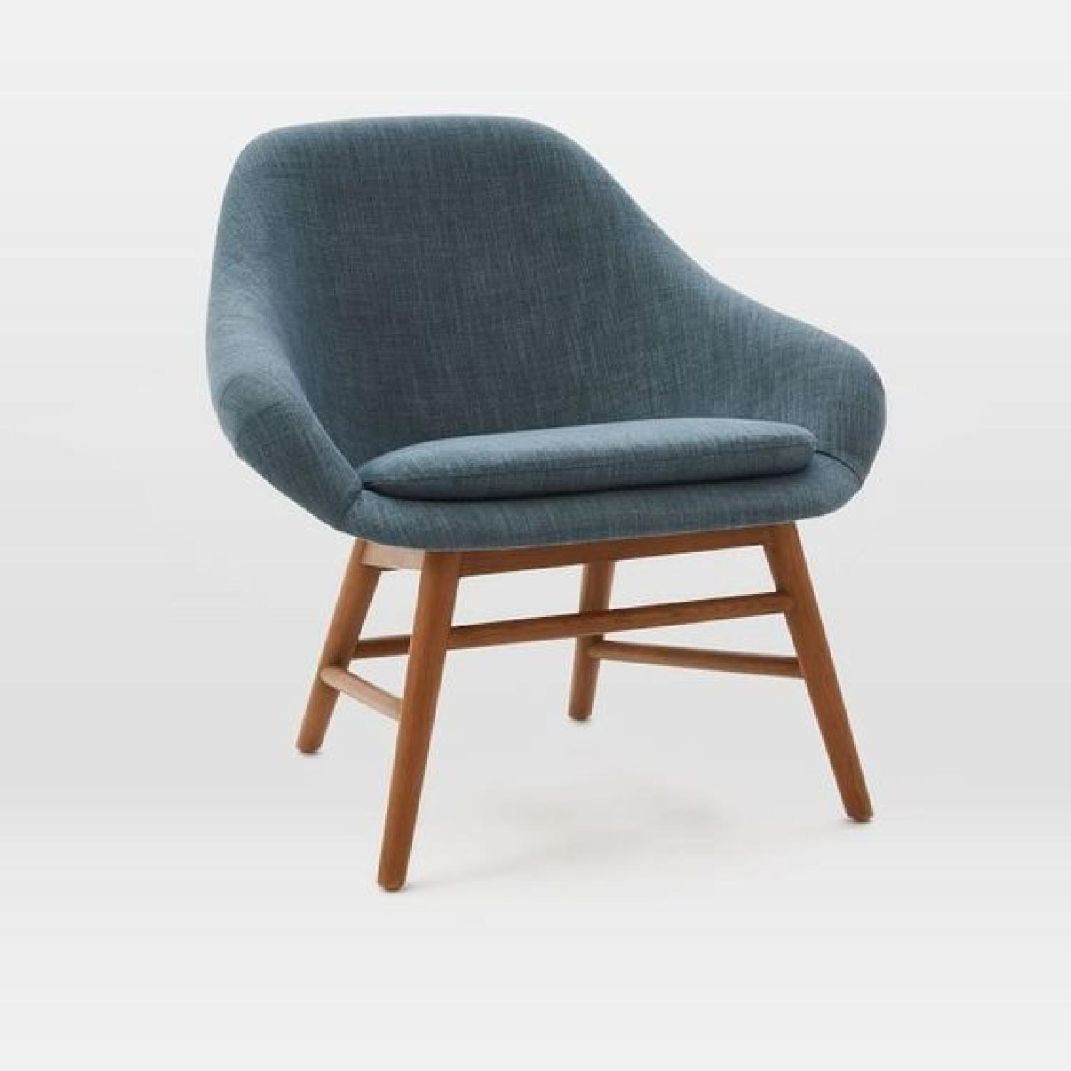 West Elm Mylo Chairs in Teal-4