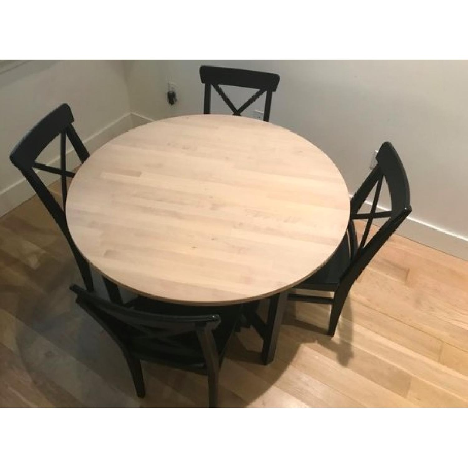 Ikea Dining Table w/ 4 Chairs-2