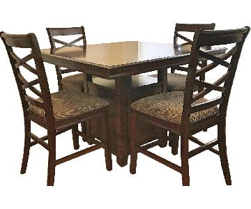 Ashley Hayley 5 Piece Counter Height Dining Set