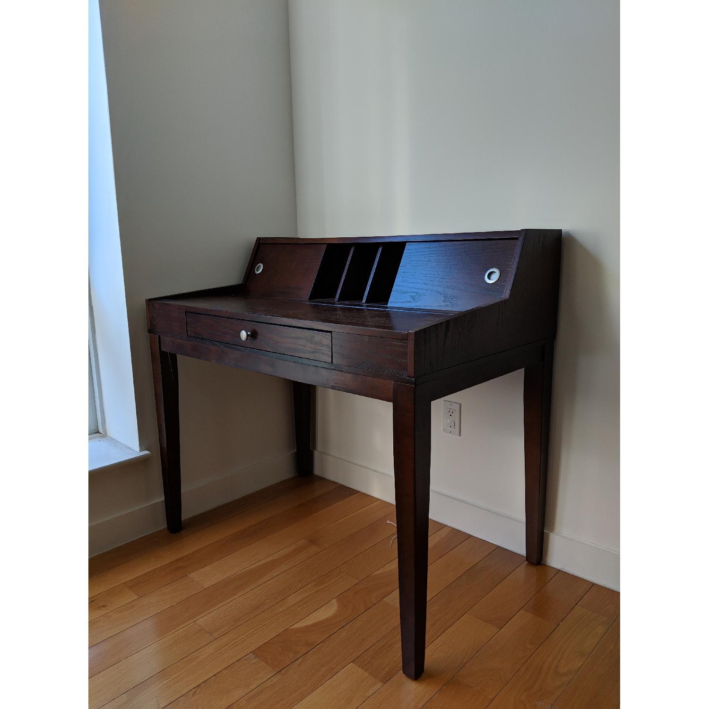 Mahogany Secretary Desk-0