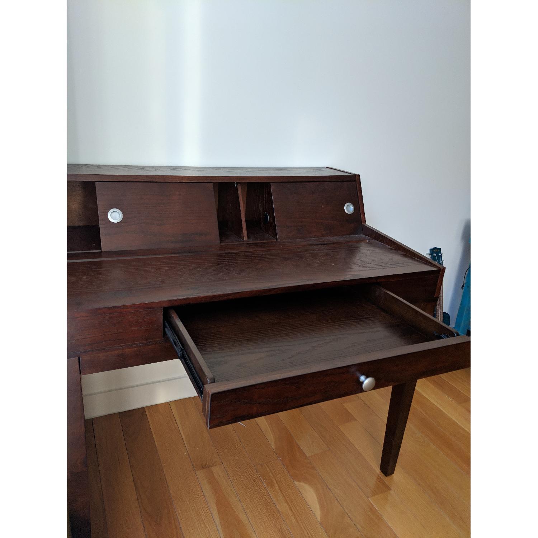 Mahogany Secretary Desk-1
