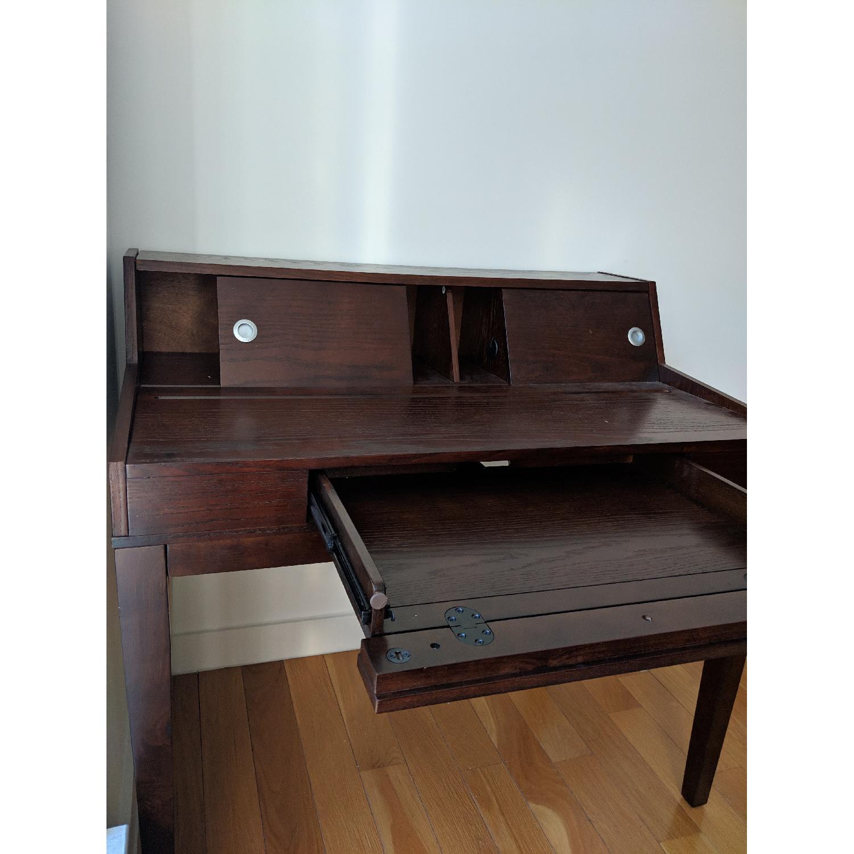 Mahogany Secretary Desk-2