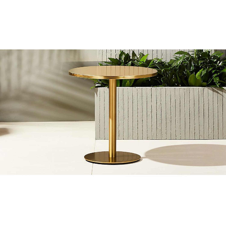 CB2 Watermark Brass Bistro Table-1