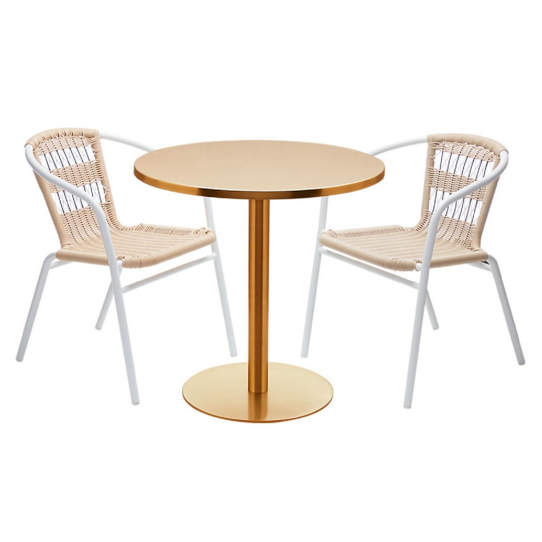 CB2 Watermark Brass Bistro Table-2