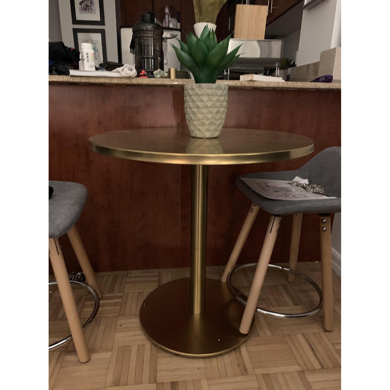 CB2 Watermark Brass Bistro Table-3