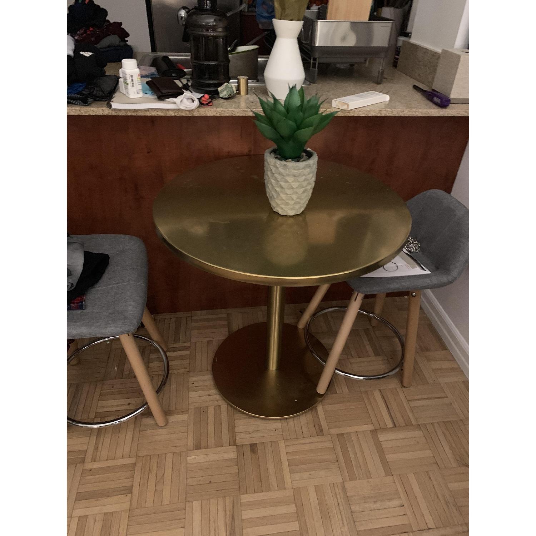 CB2 Watermark Brass Bistro Table-4