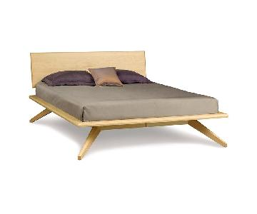 Copeland Natural Maple Astrid Collection King Platform Bed