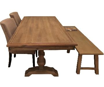Pier 1 Bradding Collection Shadow Gray Dining Table