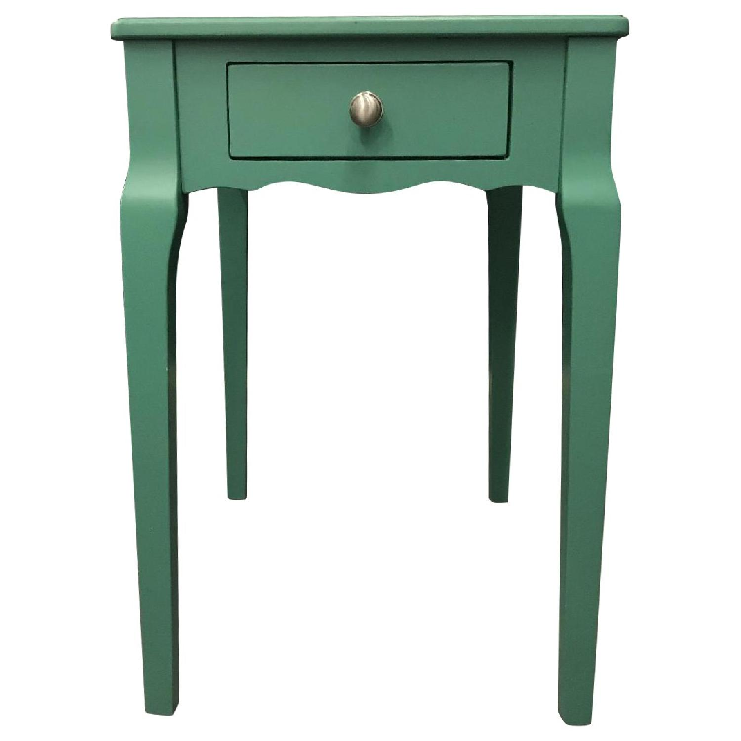 InspireQ Daniella Wood Storage Side Table