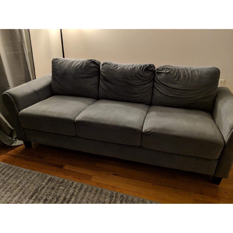 Charlton Home Rolled Arm Sofa-0