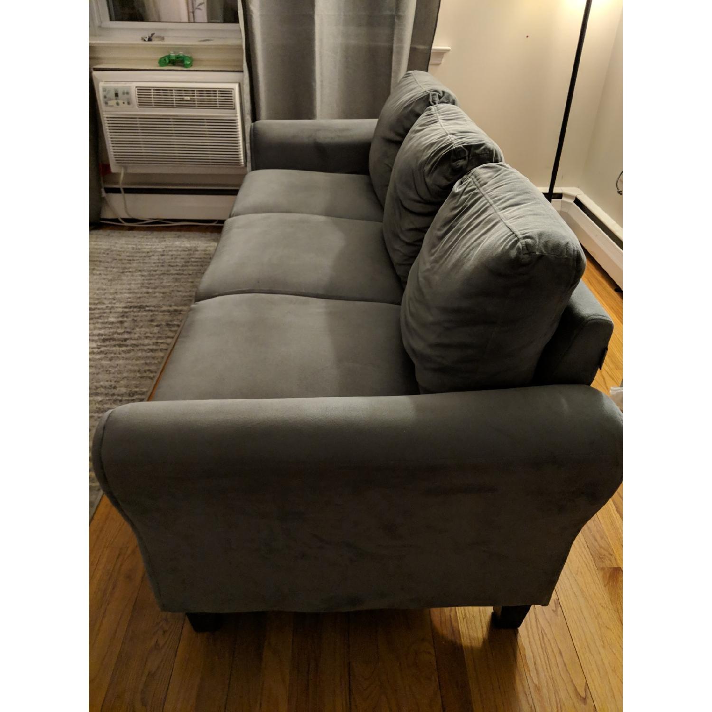 Charlton Home Rolled Arm Sofa-2