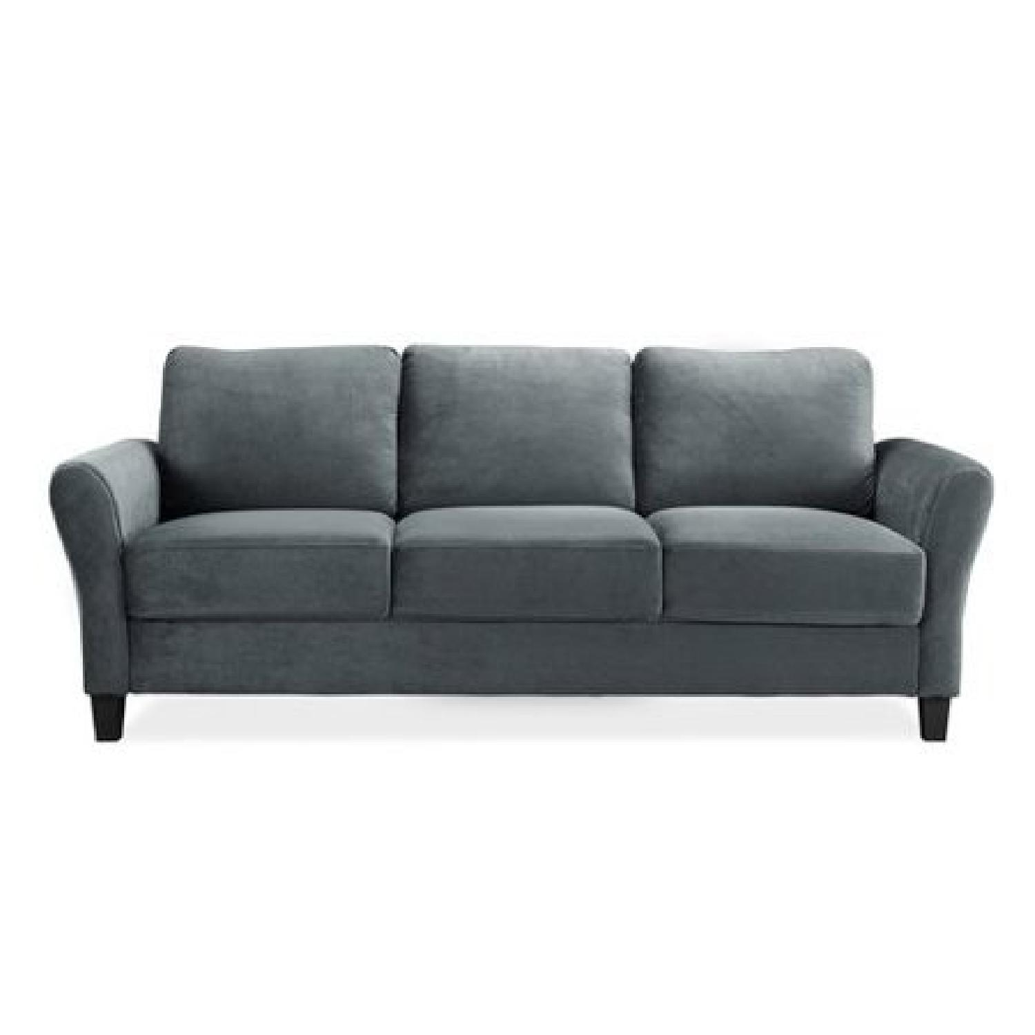 Charlton Home Rolled Arm Sofa