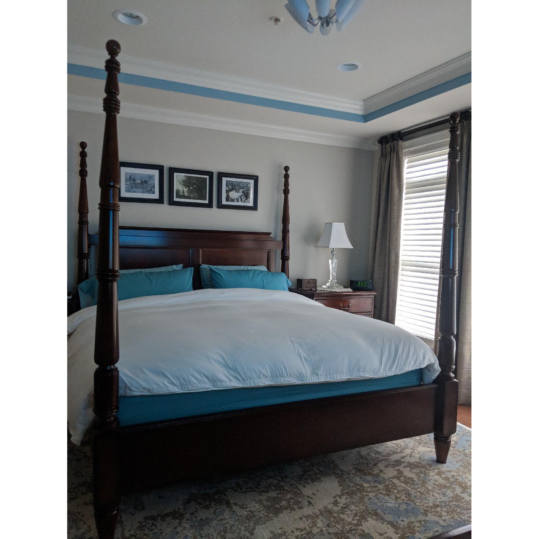 Bernhardt 4 Posts King Size Bed-1