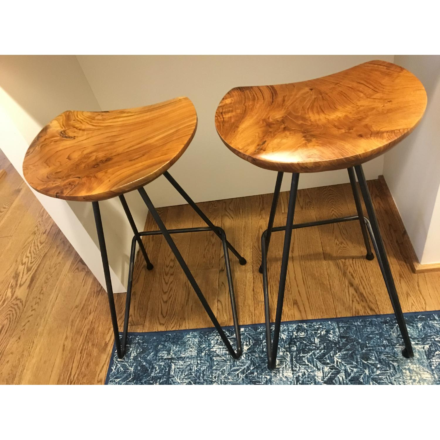 From The Source Perch Teak Bar Stool-1