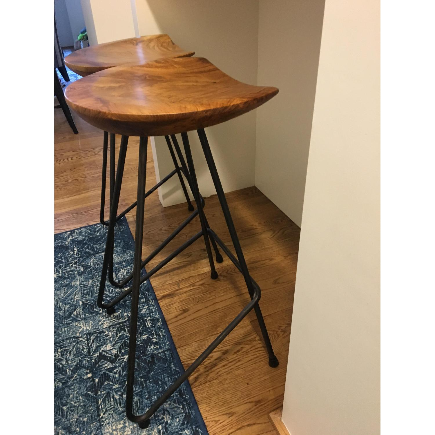 From The Source Perch Teak Bar Stool-2