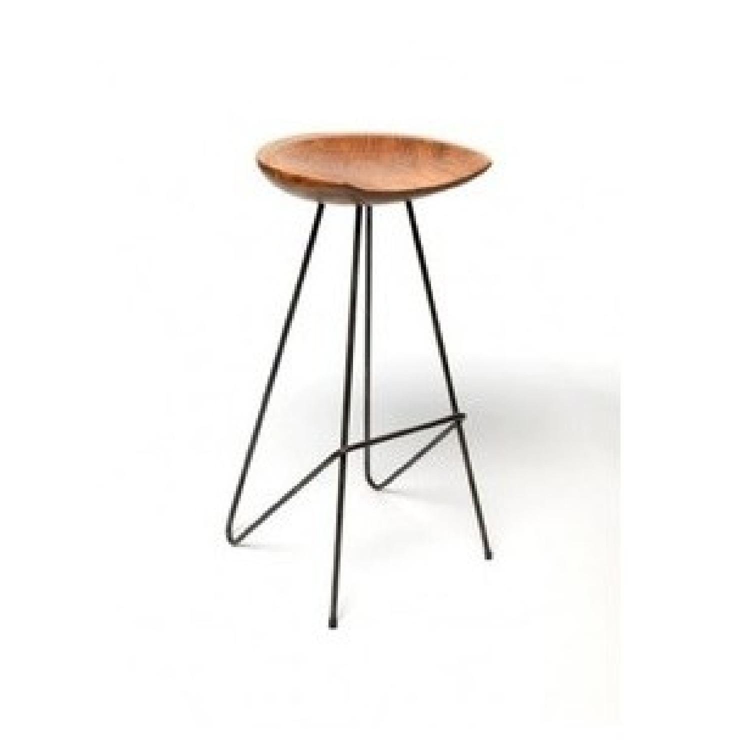 From The Source Perch Teak Bar Stool-3