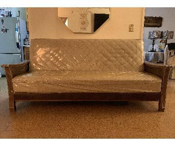 Istikbal Furniture Sleeper Sofa + Matching Armchairs