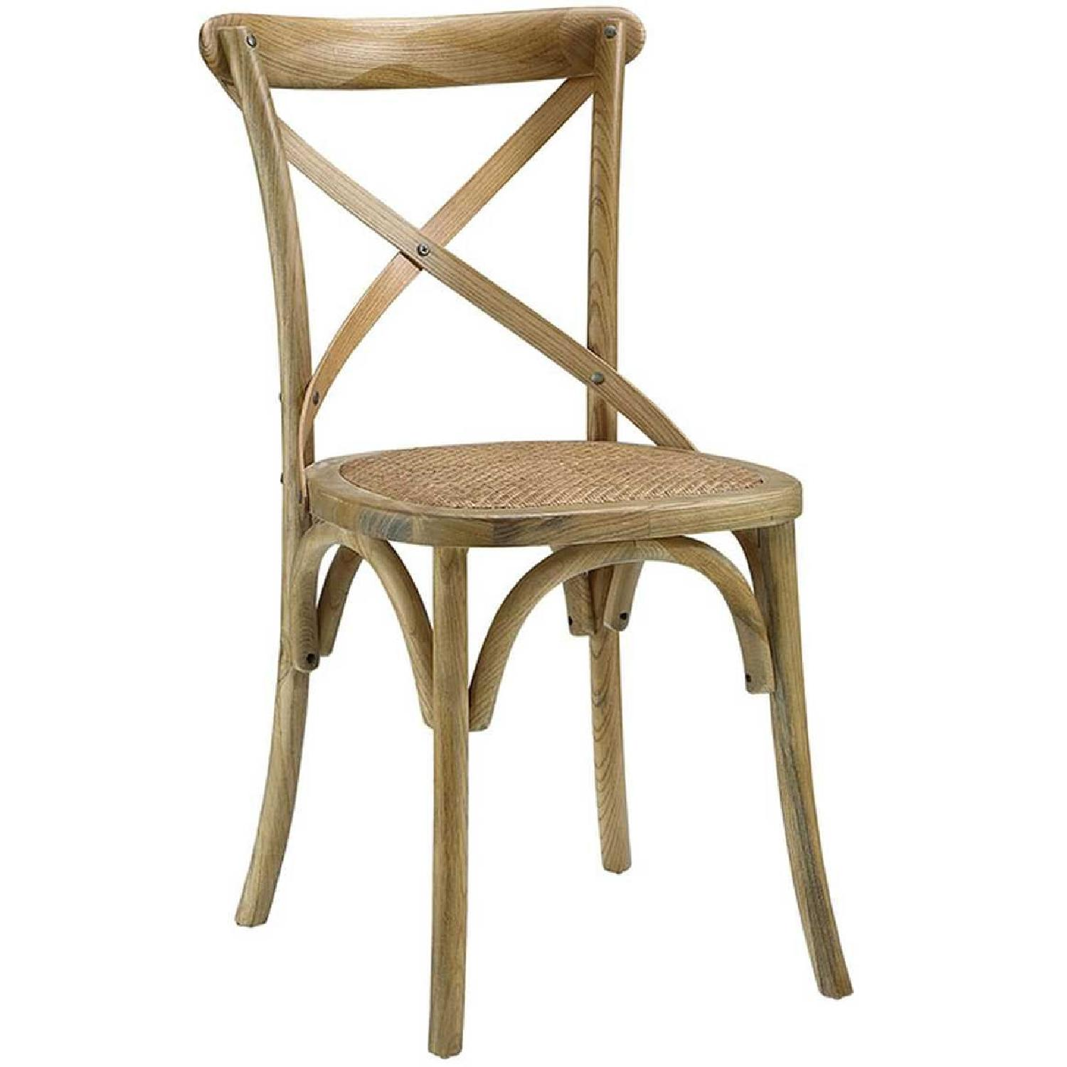 Modway Gear Dining Side Chair in Natural-0