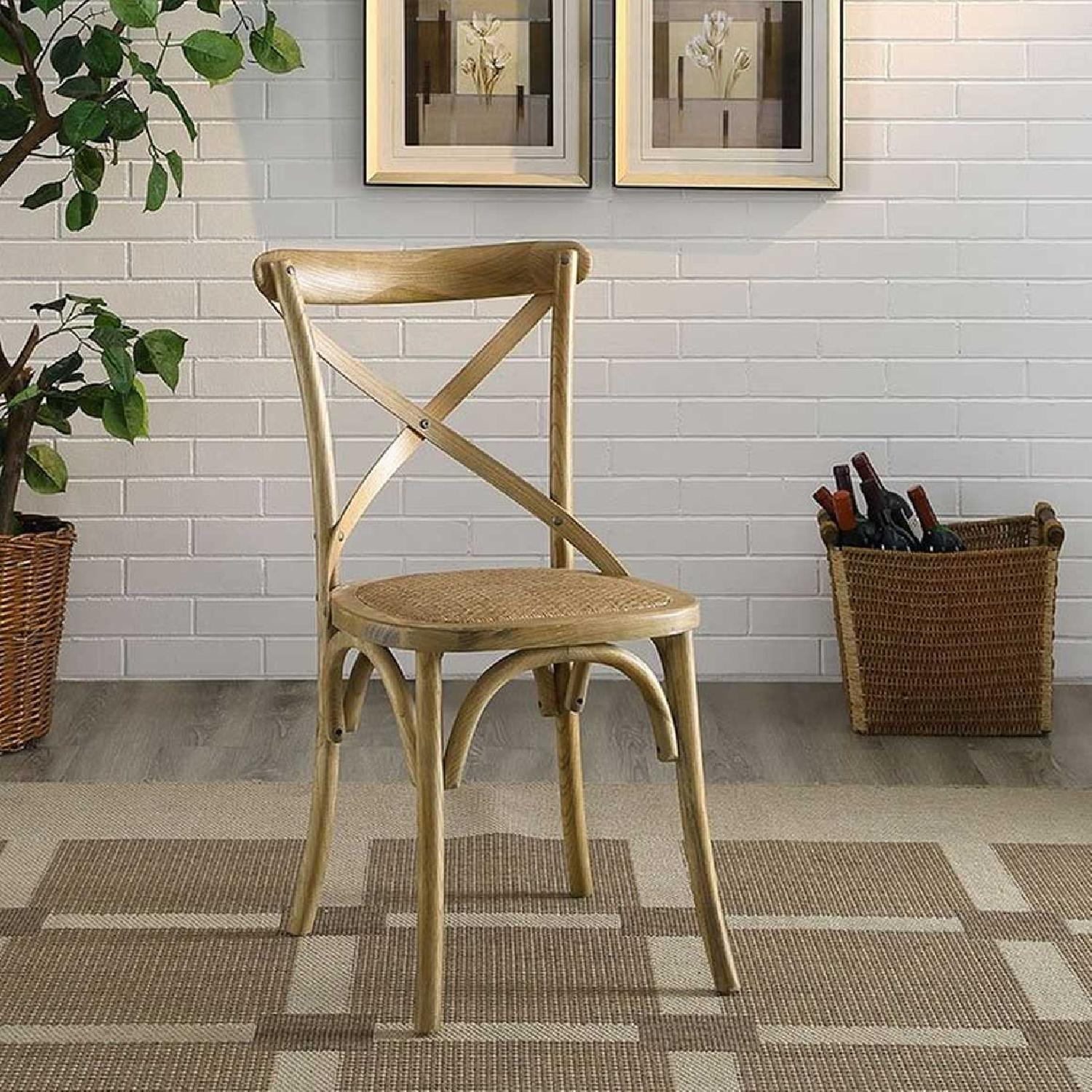 Modway Gear Dining Side Chair in Natural-2