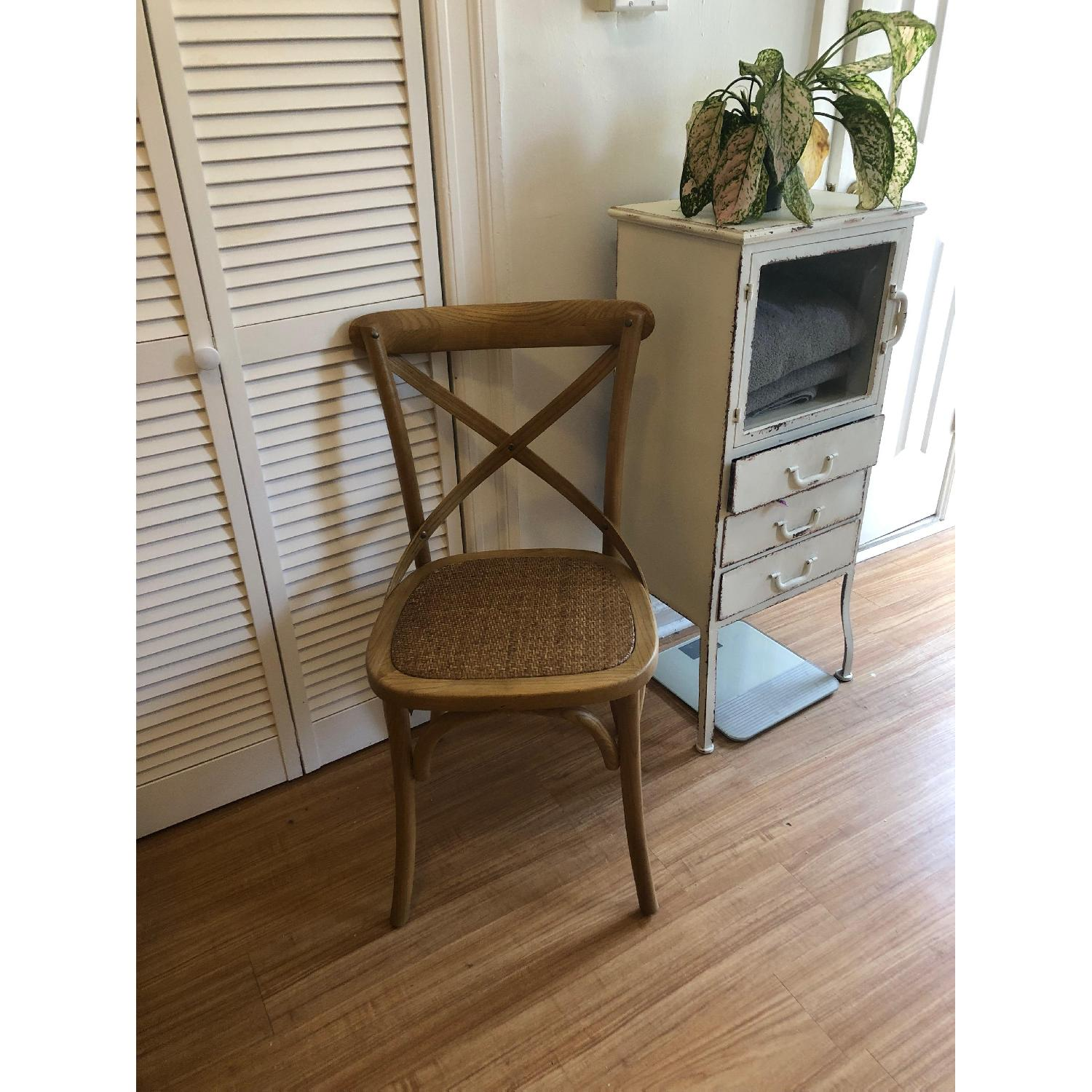 Modway Gear Dining Side Chair in Natural-5