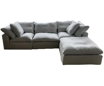 Restoration Hardware Cloud Modular Sectional Sofa