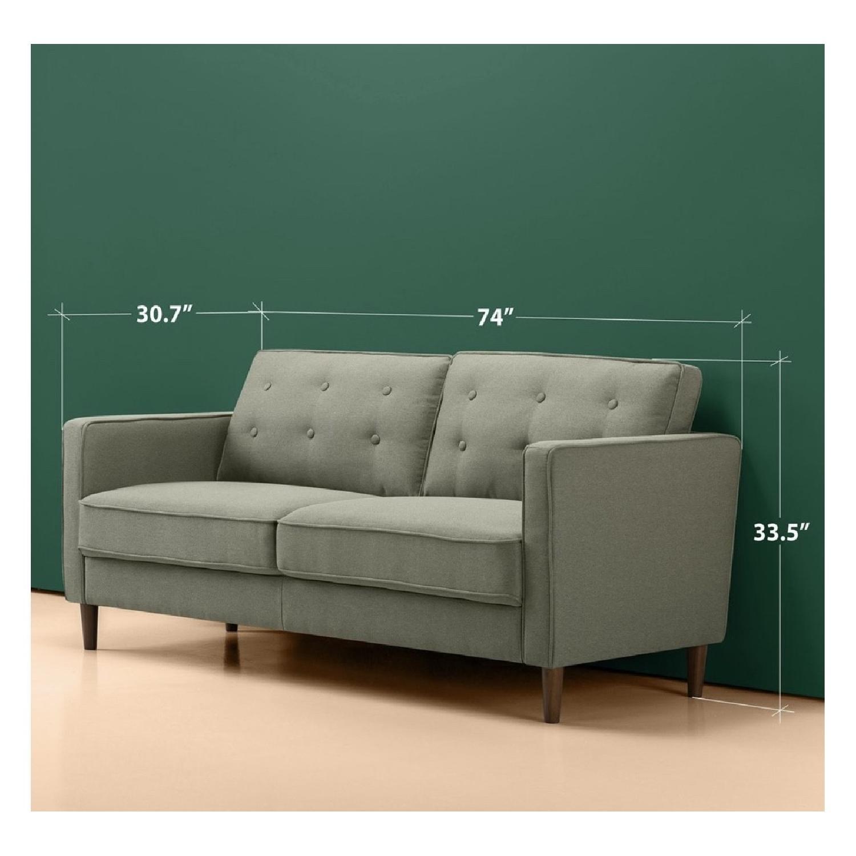 Zinus Lauren Mid-Century Button Tufted Sofa-1