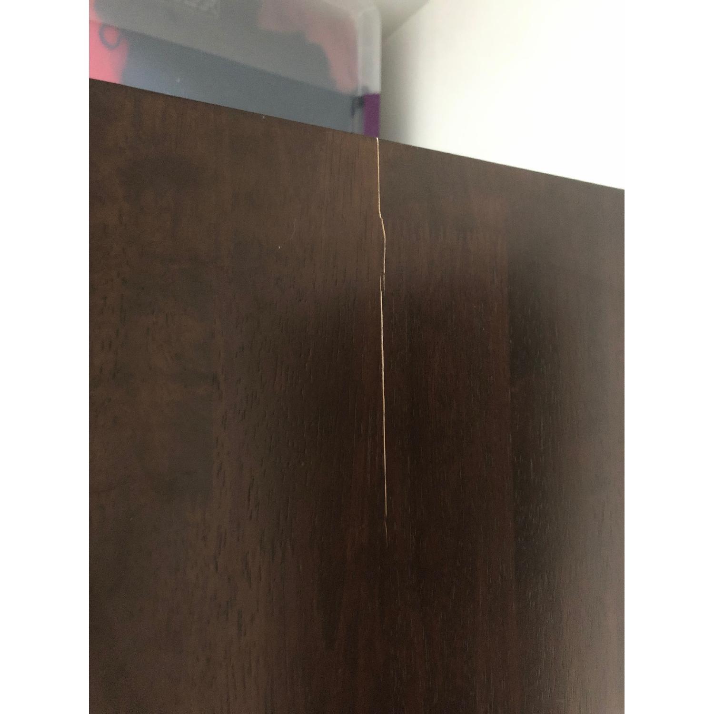 5-Drawer Dark Wood Dresser-2
