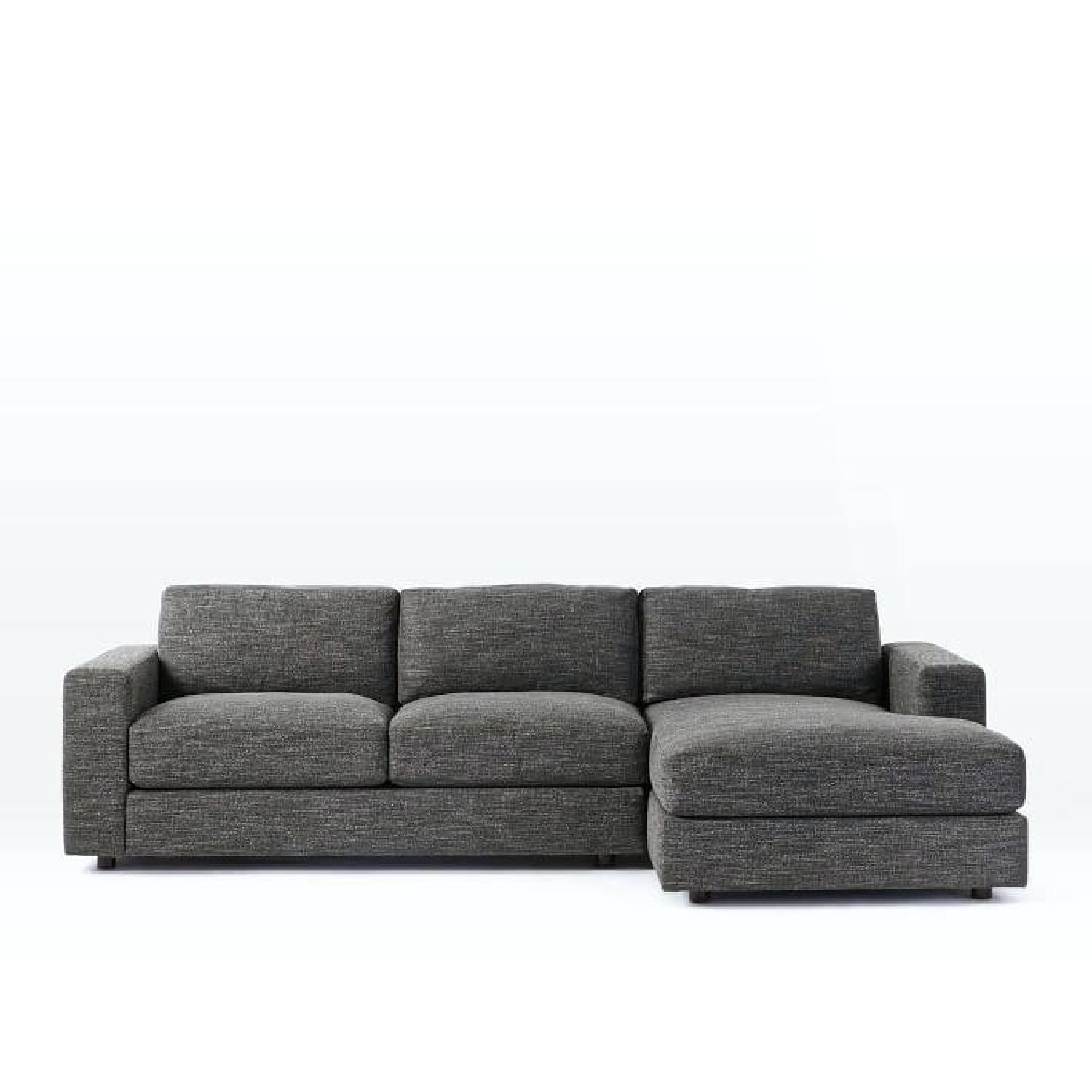 West Elm Urban 2-Piece Sectional Sofa