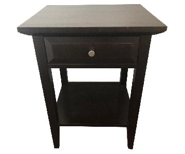 Dark Wood Nightstands