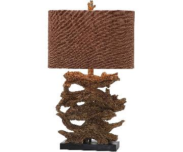 Safavieh Lighting Brown Forester Table Lamps