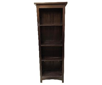 Solid Mahogany Shelving Unit