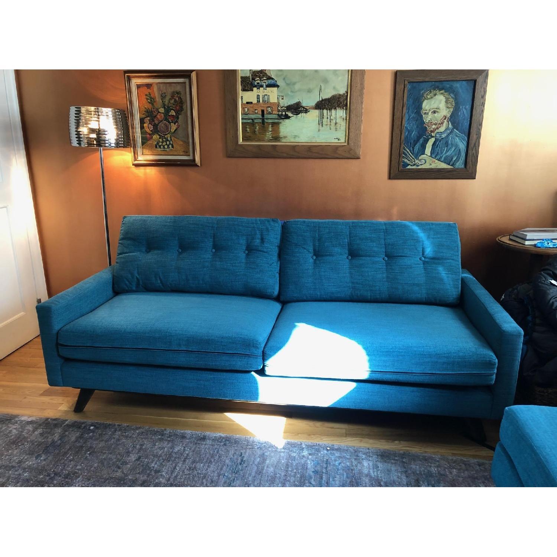 Thrive Mid-Century Apartment Size Sofa & Ottoman-1