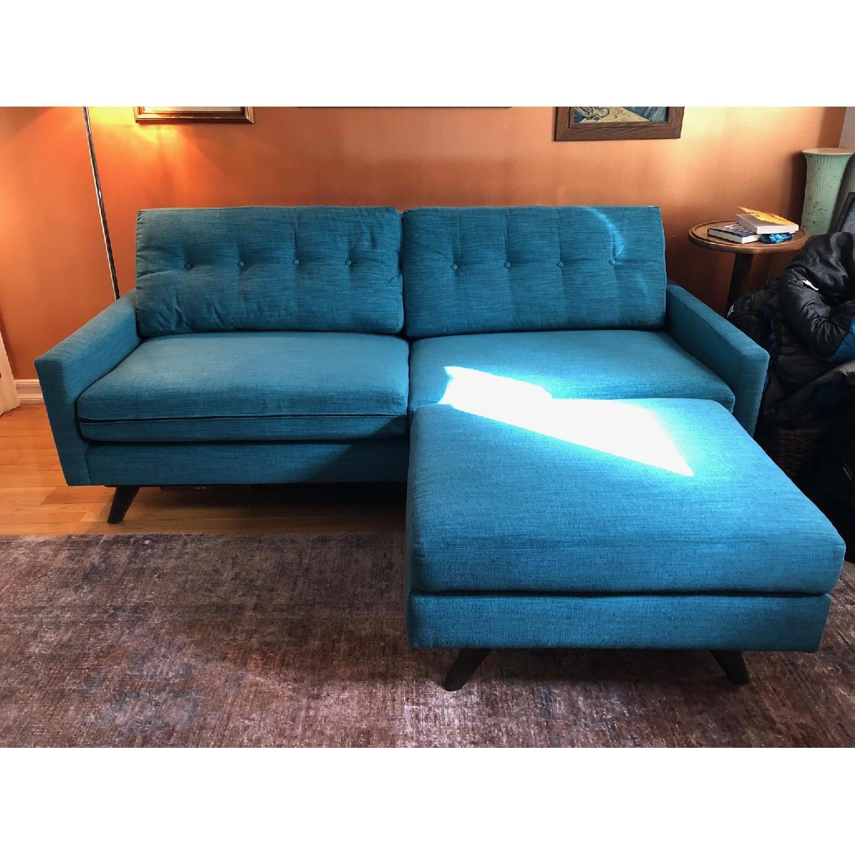 Thrive Mid-Century Apartment Size Sofa & Ottoman-2