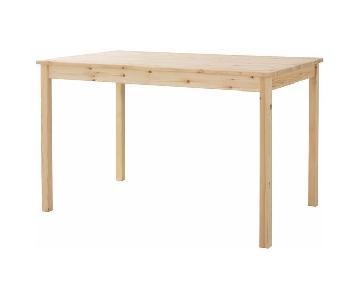 Ikea Ingo Natural Pinewood Dining Table